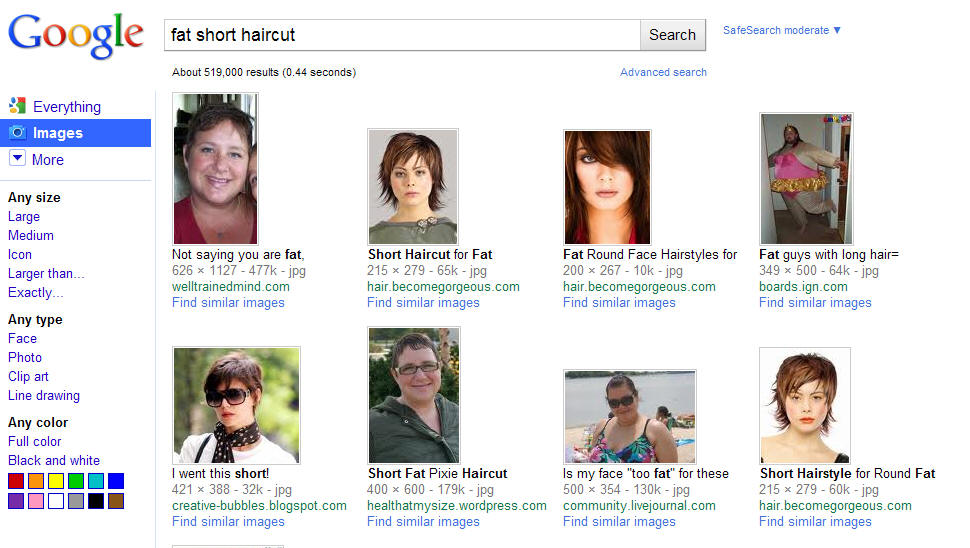 Fat Short Hair Health At My Size Or Any Size For That Matter