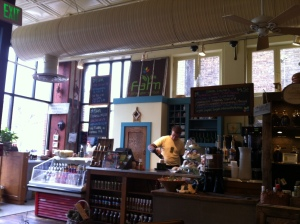 The coffee counter at Farm